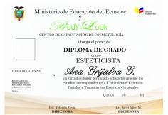 Centro Body Look Escuela de Cosmetologia Quito Ecuador